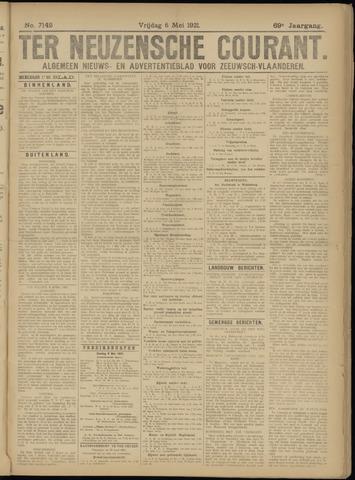 Ter Neuzensche Courant. Algemeen Nieuws- en Advertentieblad voor Zeeuwsch-Vlaanderen / Neuzensche Courant ... (idem) / (Algemeen) nieuws en advertentieblad voor Zeeuwsch-Vlaanderen 1921-05-06
