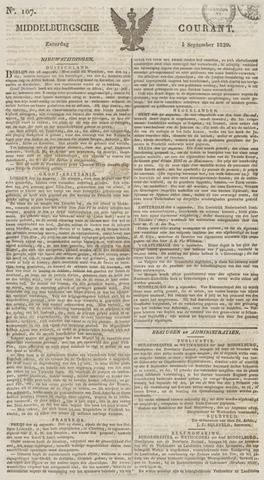 Middelburgsche Courant 1829-09-05