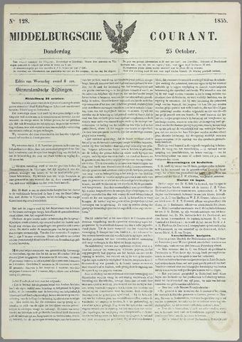 Middelburgsche Courant 1855-10-25
