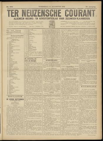 Ter Neuzensche Courant. Algemeen Nieuws- en Advertentieblad voor Zeeuwsch-Vlaanderen / Neuzensche Courant ... (idem) / (Algemeen) nieuws en advertentieblad voor Zeeuwsch-Vlaanderen 1932-08-31