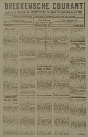 Breskensche Courant 1923-03-14