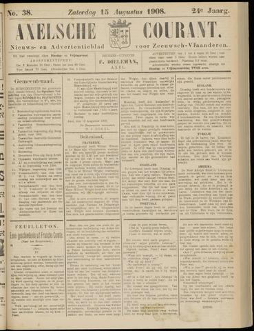 Axelsche Courant 1908-08-15
