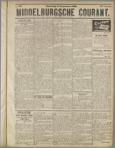 Middelburgsche Courant 1922-08-05