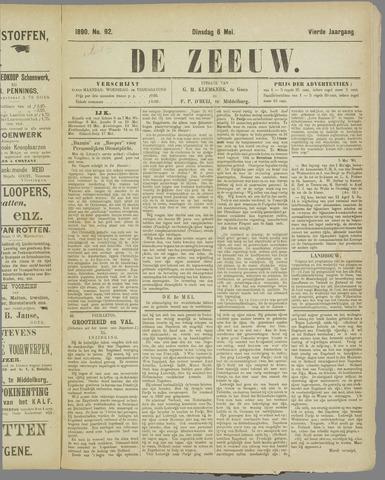 De Zeeuw. Christelijk-historisch nieuwsblad voor Zeeland 1890-05-06