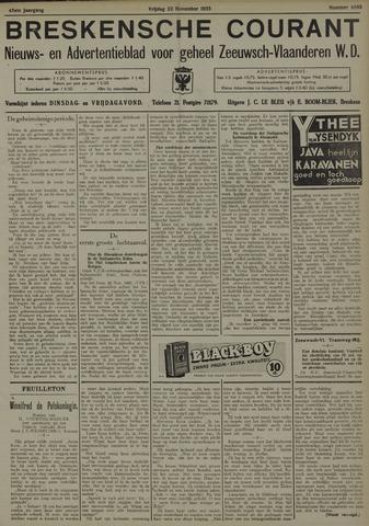 Breskensche Courant 1935-11-22