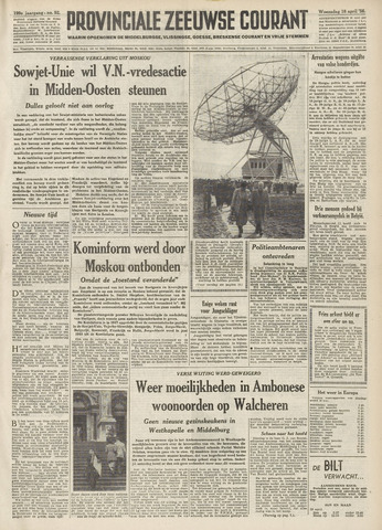 Provinciale Zeeuwse Courant 1956-04-18