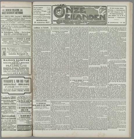 Onze Eilanden 1927-08-31
