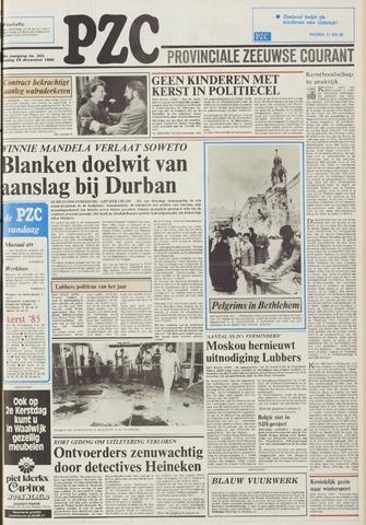 Provinciale Zeeuwse Courant 1985-12-24