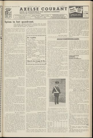 Axelsche Courant 1958-07-05