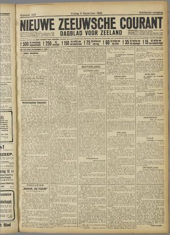 Nieuwe Zeeuwsche Courant 1922-09-08