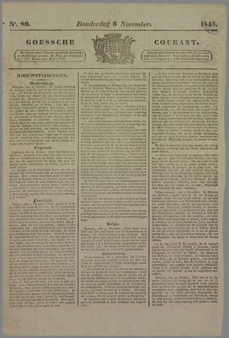 Goessche Courant 1845-11-06