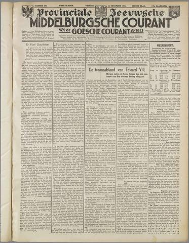 Middelburgsche Courant 1936-12-11