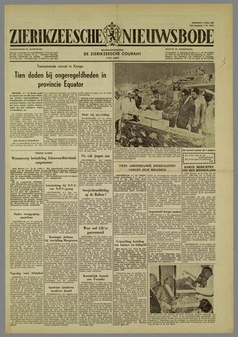 Zierikzeesche Nieuwsbode 1960-07-05