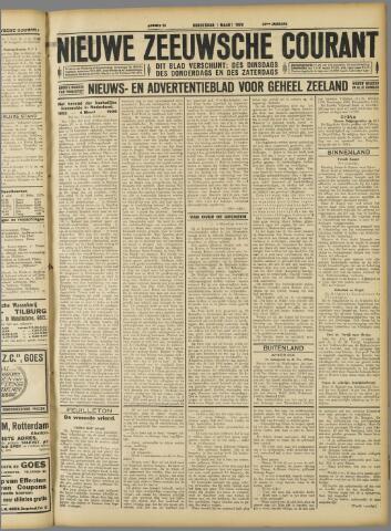 Nieuwe Zeeuwsche Courant 1928-03-01