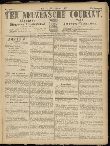 Ter Neuzensche Courant. Algemeen Nieuws- en Advertentieblad voor Zeeuwsch-Vlaanderen / Neuzensche Courant ... (idem) / (Algemeen) nieuws en advertentieblad voor Zeeuwsch-Vlaanderen 1899-08-12