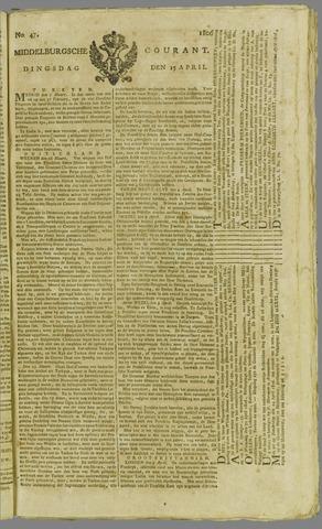 Middelburgsche Courant 1806-04-15