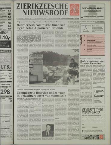 Zierikzeesche Nieuwsbode 1991-02-07
