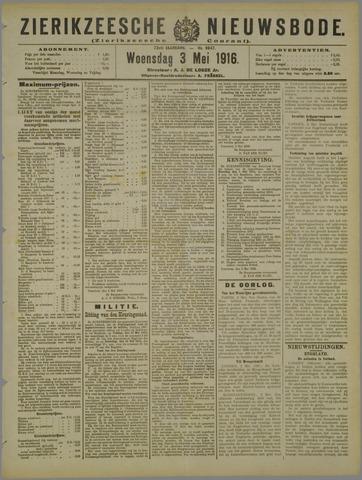 Zierikzeesche Nieuwsbode 1916-05-03