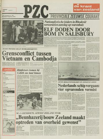 Provinciale Zeeuwse Courant 1977-08-08