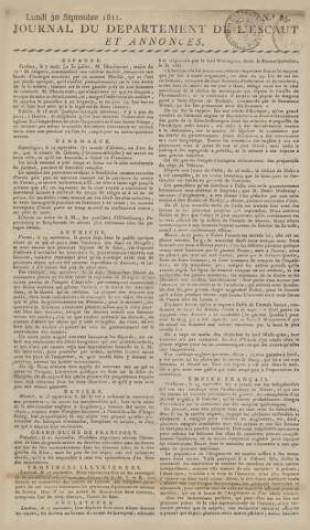 Middelburgsche Courant 1811-09-30