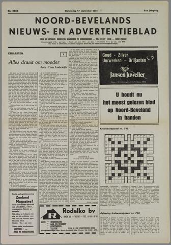 Noord-Bevelands Nieuws- en advertentieblad 1981-09-17