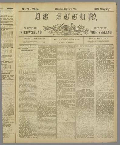 De Zeeuw. Christelijk-historisch nieuwsblad voor Zeeland 1906-05-24