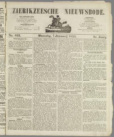 Zierikzeesche Nieuwsbode 1850-01-07