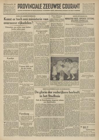 Provinciale Zeeuwse Courant 1952-07-16