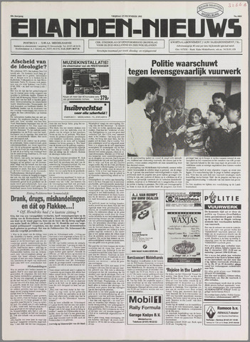 Eilanden-nieuws. Christelijk streekblad op gereformeerde grondslag 1995-12-15