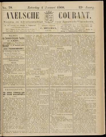 Axelsche Courant 1908-01-04