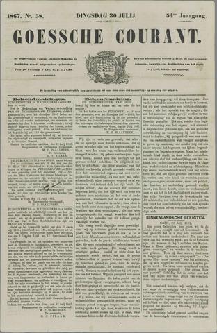 Goessche Courant 1867-07-30