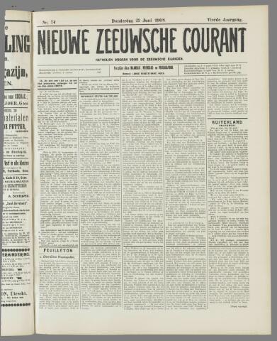 Nieuwe Zeeuwsche Courant 1908-06-25