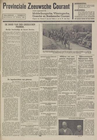 Provinciale Zeeuwse Courant 1941-04-21