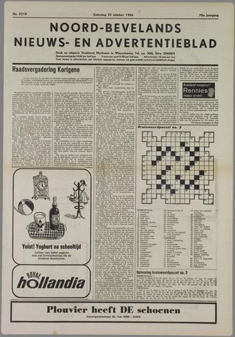 Noord-Bevelands Nieuws- en advertentieblad 1966-10-22