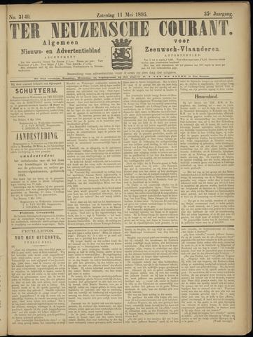 Ter Neuzensche Courant. Algemeen Nieuws- en Advertentieblad voor Zeeuwsch-Vlaanderen / Neuzensche Courant ... (idem) / (Algemeen) nieuws en advertentieblad voor Zeeuwsch-Vlaanderen 1895-05-11