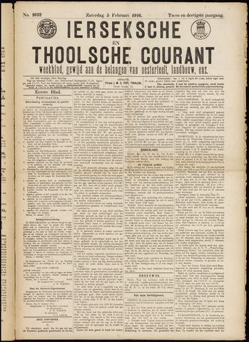 Ierseksche en Thoolsche Courant 1916-05-02