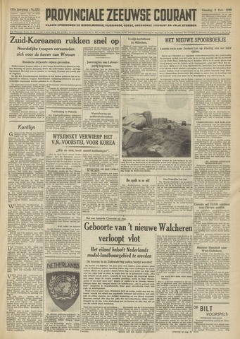 Provinciale Zeeuwse Courant 1950-10-03