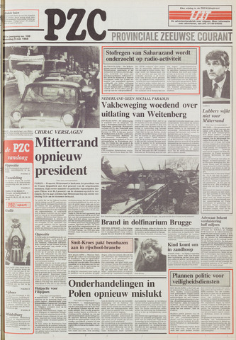 Provinciale Zeeuwse Courant 1988-05-09