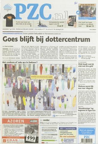 Provinciale Zeeuwse Courant 2010-04-07