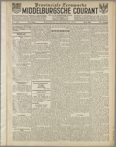 Middelburgsche Courant 1930-08-27