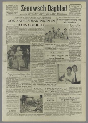 Zeeuwsch Dagblad 1957-06-19