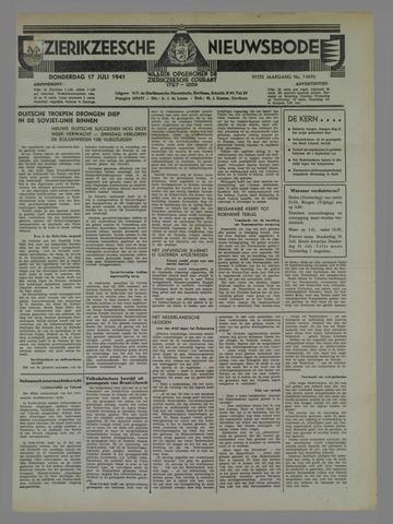 Zierikzeesche Nieuwsbode 1941-07-13