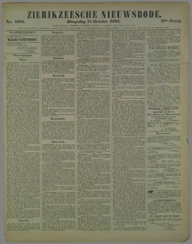 Zierikzeesche Nieuwsbode 1882-10-24