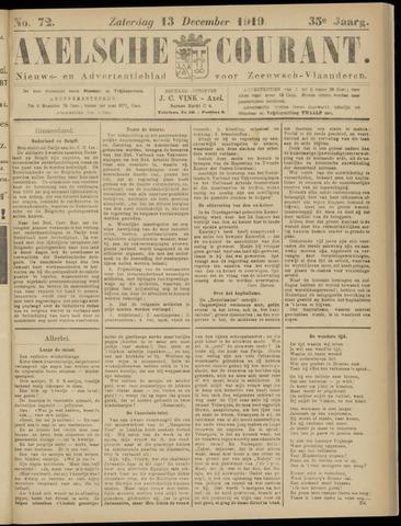 Axelsche Courant 1919-12-13
