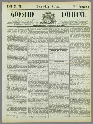 Goessche Courant 1891-06-18