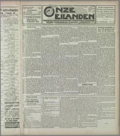 Onze Eilanden 1931
