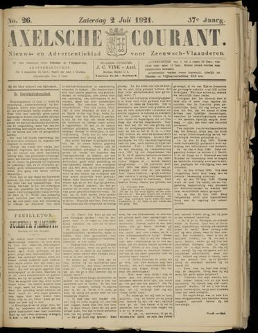 Axelsche Courant 1921-07-02