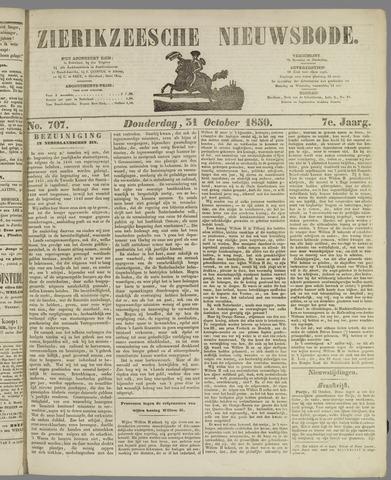 Zierikzeesche Nieuwsbode 1850-10-31