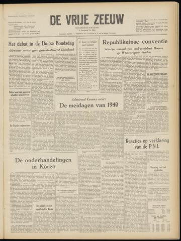 de Vrije Zeeuw 1952-07-10
