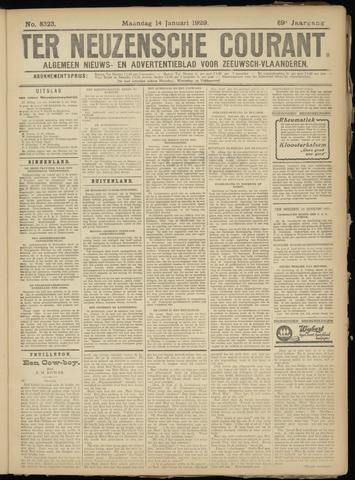 Ter Neuzensche Courant. Algemeen Nieuws- en Advertentieblad voor Zeeuwsch-Vlaanderen / Neuzensche Courant ... (idem) / (Algemeen) nieuws en advertentieblad voor Zeeuwsch-Vlaanderen 1929-01-14
